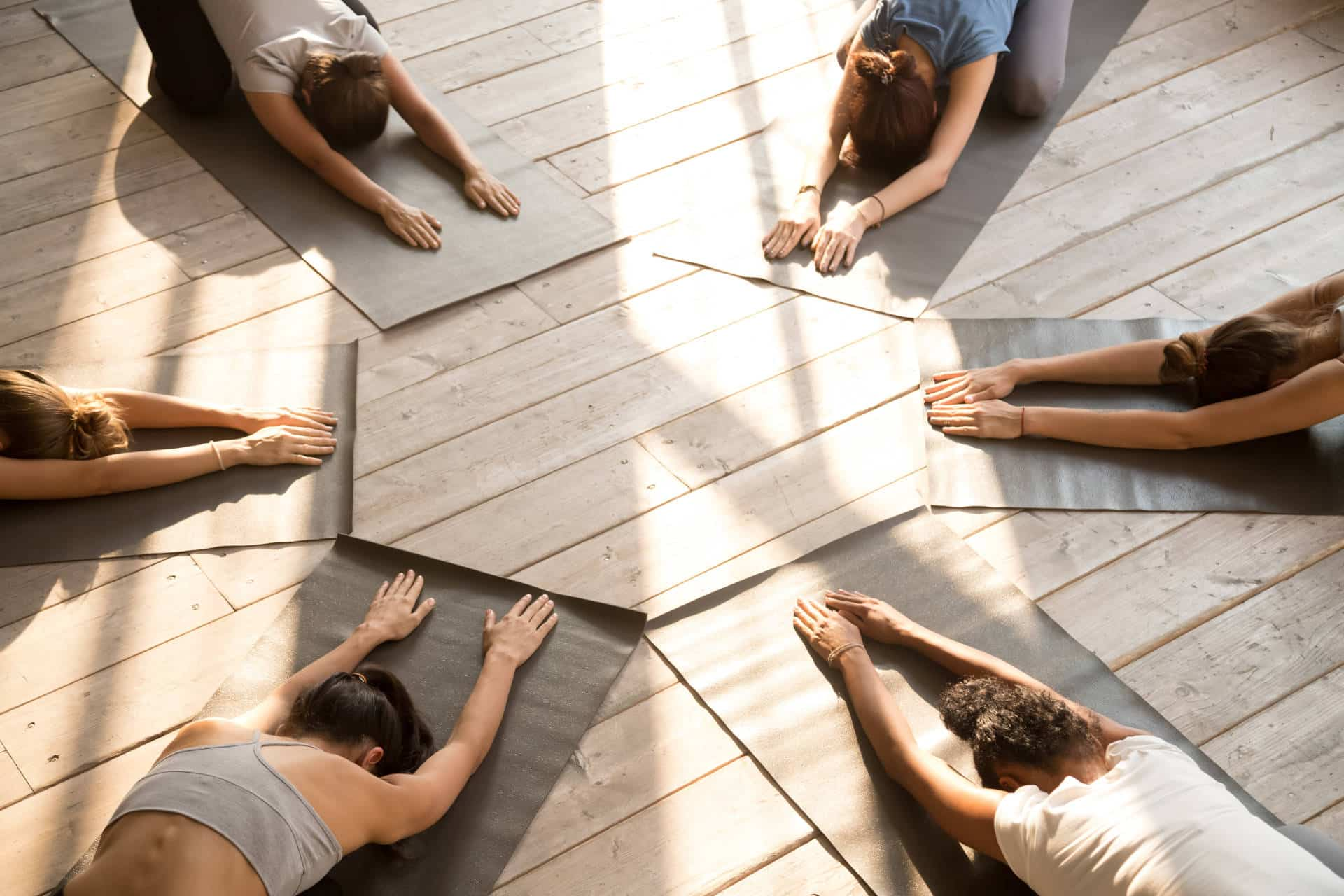 yoga poses for grief